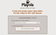 El Lado Curioso & Geek De La Red  ®: Playola: divertida web para crear vídeos cortos co...