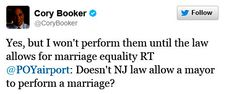 Cory Booker - awesome