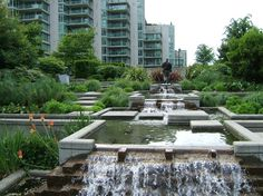 urban water features - Google Search