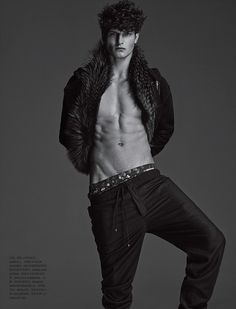 John Todd by Hong Jang Hyun for Numéro Homme China | Nìxí Magazine