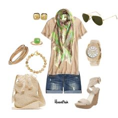 Grassy Green, created by hosefish on Polyvore