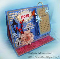 Мой скрап: Настольный календарь 2015
