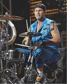 HAPPY 60th BIRTHDAY to CHAD SMITH!! 10/25/21 Born Chad Gaylord Smith, American musician who has been the drummer of the band Red Hot Chili Peppers since 1988. The group was inducted into the Rock and Roll Hall of Fame in 2012. Smith is also the drummer of the hard rock supergroup Chickenfoot, formed in 2008, and of the all-instrumental outfit Chad Smith's Bombastic Meatbats, formed in 2007.