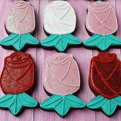 Rose cookies! Mmm.