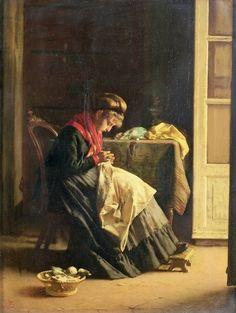 The seamstress - Thomas Wade.