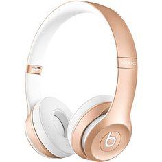 Fone de Ouvido com Microfone Beats B0534 Solo 2 Dourado Wireless Edição Especial