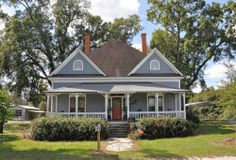 Surrency GA Appling County Folk Victorian Architecture Restored Old House Picture Image Photograph Copyright © Brian Brown Vanishing South G...