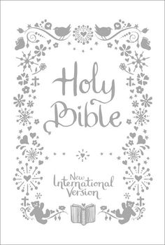 Christening Bible, £12.99       This Bible has a beautiful foiling pattern on both the book and box, silver gilt edges, family tree and ribbon marker, this Bible marries together the traditional with the modern for an ideal Christening memento.