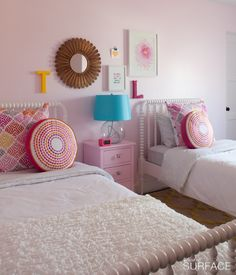I love the bright cottage look for little girls.