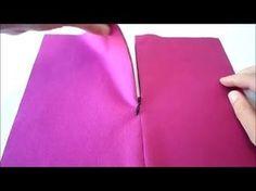 Cremallera invisible - YouTube