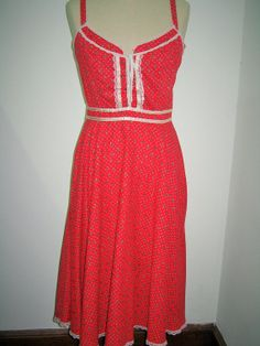Available on our Etsy shop! Vintage Gunne Sax Boho Chic Dress <3