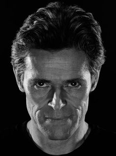 Willem Dafoe, by Andrew McPherson