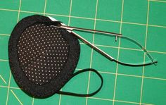 I can finally use up all those SCRAPS! This is really, really easy, and I request right off the top that you yoink this, make these, sell these, and do whatever you can to make having to wear an eye-patch less depressing and more comfortable for people (including children) who MUST wear them.… Pretty Eyes, Beautiful Eyes, Sewing Crafts, Sewing Projects, Sewing Ideas, Mouth Mask Fashion, Diy Patches, Dog Eyes, Craft Activities