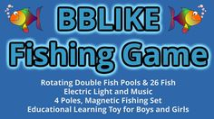Test + Try =Results                   : BBLIKE Fishing Game - Rotating Double Fish Pools &...