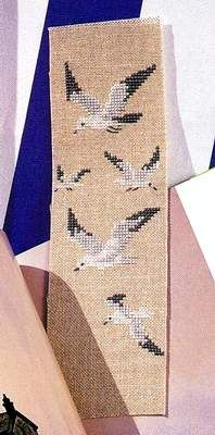 cross stitch seagulls part 1 of 2 more charts crosses crosses stitches ...