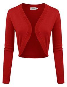 NINEXIS Women's Solid Long Sleeve Open Front Bolero RED L... https://www.amazon.com/dp/B01LYNHPCX/ref=cm_sw_r_pi_dp_x_s5.aybQG9SAS6