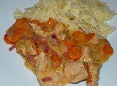 Poulet et carottes à la crème - WW - Cookeo