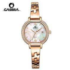 2f5f2d2e164 Relógio Marca de Luxo Pulseira Relógios das Mulheres 2018 Moda Casual  CASIMA Relógio Marca de Luxo Pulseira Relógios das.