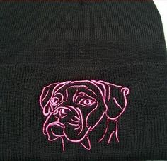 Boxer Knit Ski Hat, click or dial for boxer hats, shirts and supplies that donate to help feed shelter dogs in the USA. Boxer Rescue, Ski Hats, Shelter Dogs, Skiing, Knitting, Ski, Tricot, Breien, Stricken