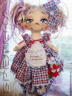 Текстильная кукла домовушка-желанница Золушка - кукла,текстильная кукла
