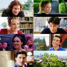 Great romantic comedy movies ever! 10 Things I Hate About You