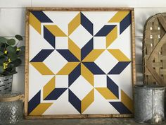 Looking for West Virginia Star Barn Quilt Block ? Check out our picks for the West Virginia Star Barn Quilt Block from the popular stores - all in one. Quilt Square Patterns, Barn Quilt Patterns, Pattern Blocks, Square Quilt, Quilting Patterns, Barn Quilt Designs, Quilting Designs, Barn Wood Crafts, Pallet Crafts