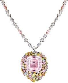 FANCY LIGHT PINK DIA beauty bling jewelry fashion