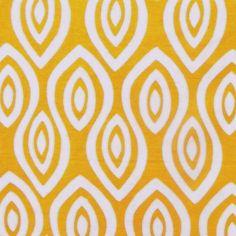 Turkish Eye in Tangerine from Katherine Rally Textiles