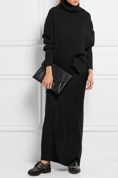 Ann Demeulemeester | Oversized ribbed alpaca-blend sweater | NET-A-PORTER.COM