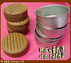 Sugar Mur: Bizcocho básico de cacao
