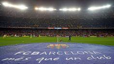 FC Barcelona, Camp Nou antes del encuentro. FC Barcelona 2-1 Villareal | J.16  [14.12.13] FOTO: MIGUEL RUIZ-FCB.