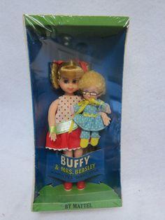 TV Family Affair Buffy & Mrs Beasley Tutti Doll 1967 - I got this for Christmas one year!