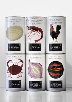 Oro Laus 2012 | Línea de envases y|o etiquetas  | Título: Querida Carmen| Autor: Grafica | Cliente: BCN Gourmet