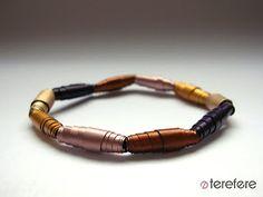 capsules bracelet | bransoletka z kapsułek