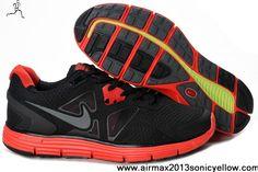 50aa14ebf2511 Sale Cheap Nike Lunarglide 2 Black Red Womens 454315-008 Fashion Shoes Store  Free Running