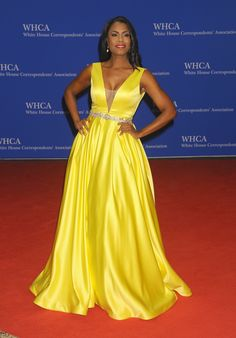 What the stars wore to the 102nd (and Obama's last) WHCD   Omarosa Manigault