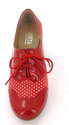 Janita kävelykengät puna-valkoinen - Naisten kengät - 0007415 - 4