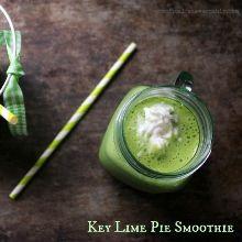 Dairy Free Key Lime Pie Smoothie