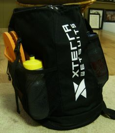 XTERRA triathlon transition backpack - highly recommended.
