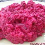 Stamppot bloemkool rode bieten met gehakt van Pien Dijkstra
