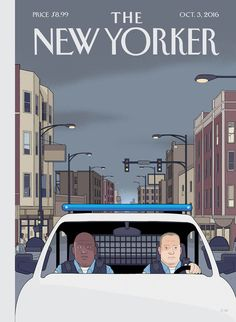 "The cover of the October 3, 2016, issue is ""Shift,"" by Chris Ware."