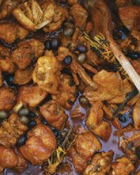 Rabbit Stew with Olives and Rosemary Recipe from Food & Wine
