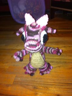 Crocheted Baby Dragon by BlackLashes25 on Etsy, $12.00