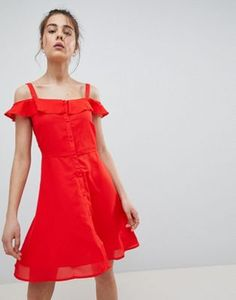 Order Pimkie Button Front Cami Dress online today at ASOS for fast delivery, multiple payment options and hassle-free returns (Ts&Cs apply). Get the latest trends with ASOS. Summer Dresses, Dresses Dresses, Dresses Online, Cami, Fashion Online, Latest Trends, Asos, Cold Shoulder Dress, Feminine