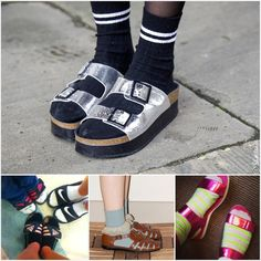 Socks with Sandals Fashion Dilemma?!!
