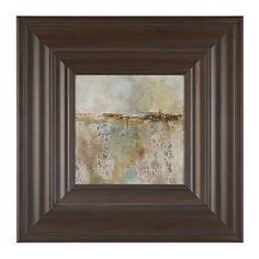 Antique Abstract Framed Art Print | Kirklands