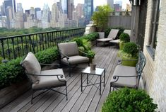 outdoor balcony Small Balcony Design, Pictures, Remodel, Decor and Ideas - page 10 Modern Balcony, Small Balcony Garden, Small Terrace, Outdoor Balcony, Terrace Garden, Rooftop Patio, Narrow Balcony, Outdoor Seating, Terrace Ideas