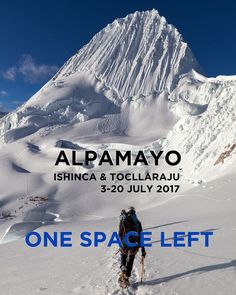 Fancy arriving at this magnificent high camp? Just one space left on this custom itinerary 3-30 July 2017. The itinerary is 18 days long ex Huaraz and takes in Ishinca Tocllaraju and the majestic Alpamayo.  The maximum group size is 2 guides and 2 clients so that you can decide when and where you climb.  Check out the itineraries at: http://ift.tt/2i1yOmx  #Peru #artesonraju #alpamayo #loveperu #ig_peru #shinca #urus #tocllaraju #ranrapalca#CordilleraBlanca #mountains #mountaineer…
