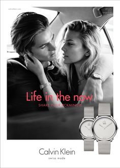 Calvin Klein Watches and  Jewelry 2016 campaign