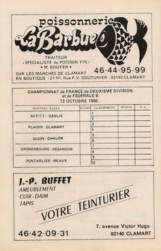 Calendrier 1985-1986 - 2ème Division - Page 10